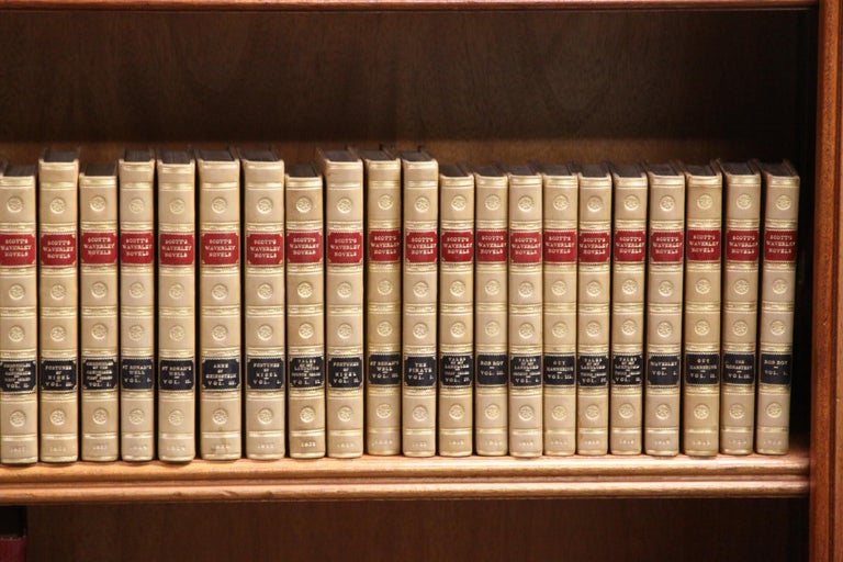 Books.  Sir Walter Scott Writings. Collections of  Antiques Books. First Edition In Excellent Condition For Sale In New York, NY
