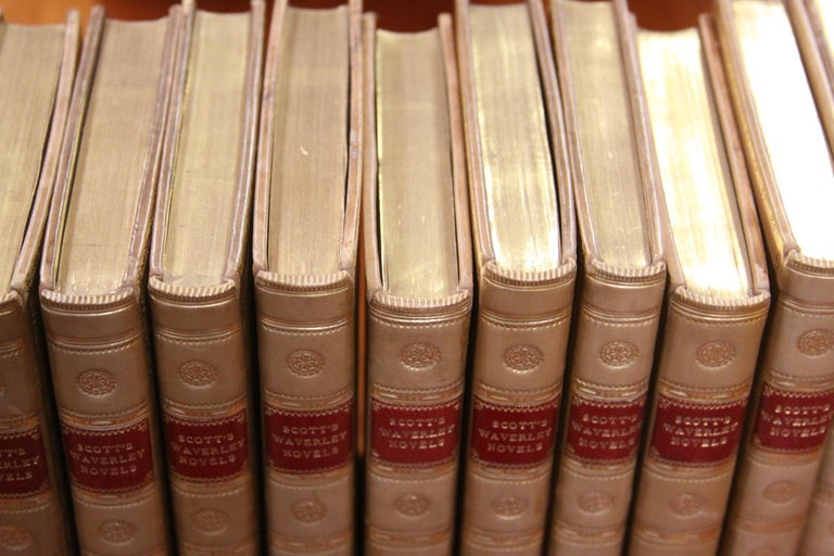 Books.  Sir Walter Scott Writings. Collections of  Antiques Books. First Edition For Sale 1