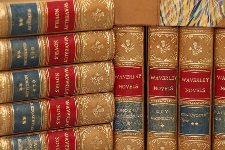 Dyed Books, Sir Walter Scott's