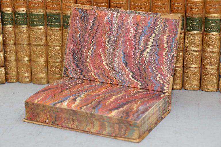 Leather Books, Sir William Jardine's