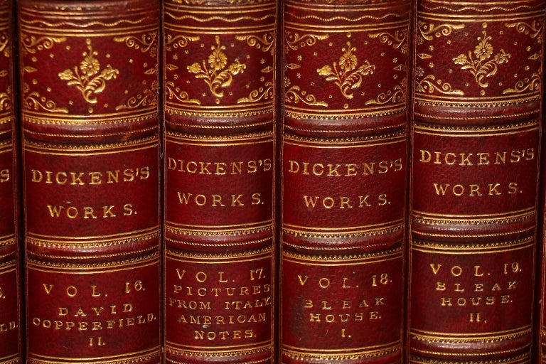 English Books, The Complete Works of Charles Dickens Library Edition