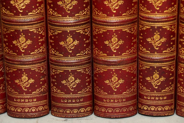 Dyed Books, The Complete Works of Charles Dickens Library Edition