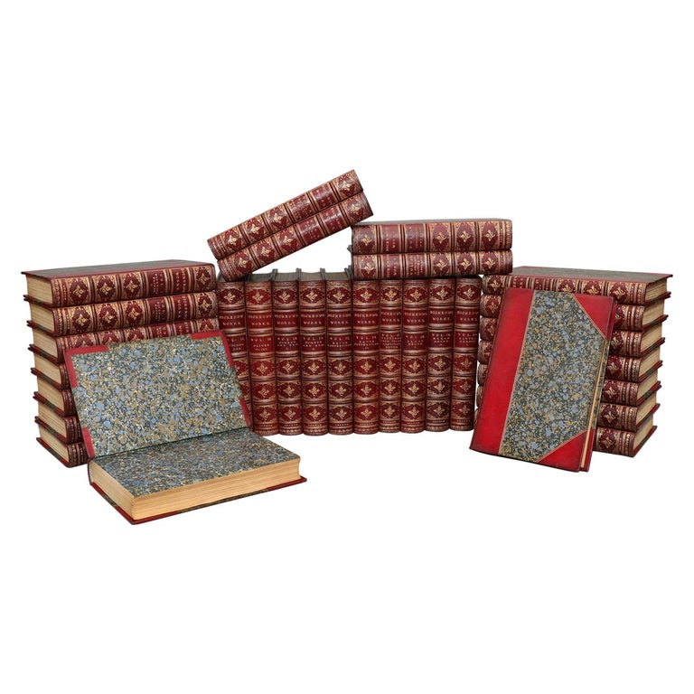 Books, The Complete Works of Charles Dickens Library Edition