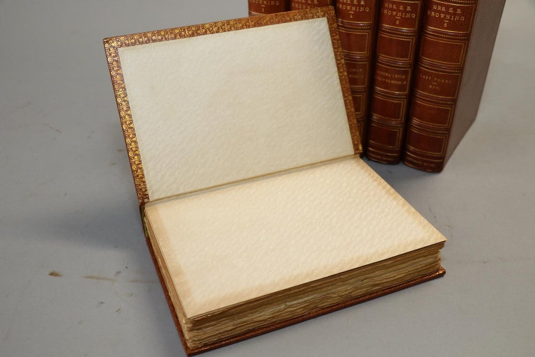 Early 20th Century Books, The Complete Works of E.B. Browning For Sale