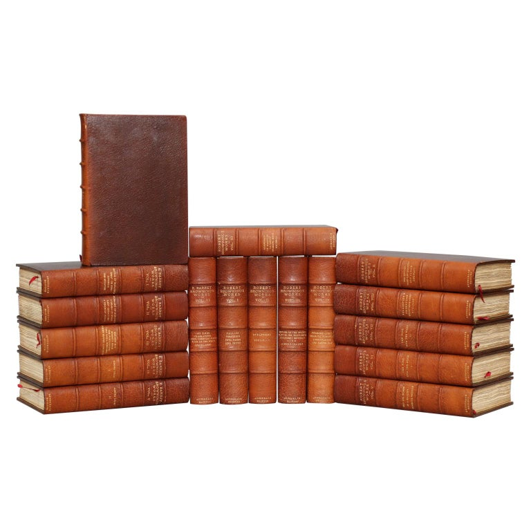 Books, The Complete Works of Mrs. E.B. Browning and Robert Browning For Sale