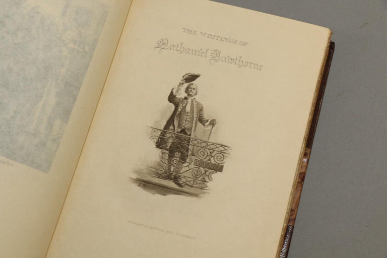 Books, The Complete Works of Nathaniel Hawthorne  Limited Large Paper Edition! For Sale 3