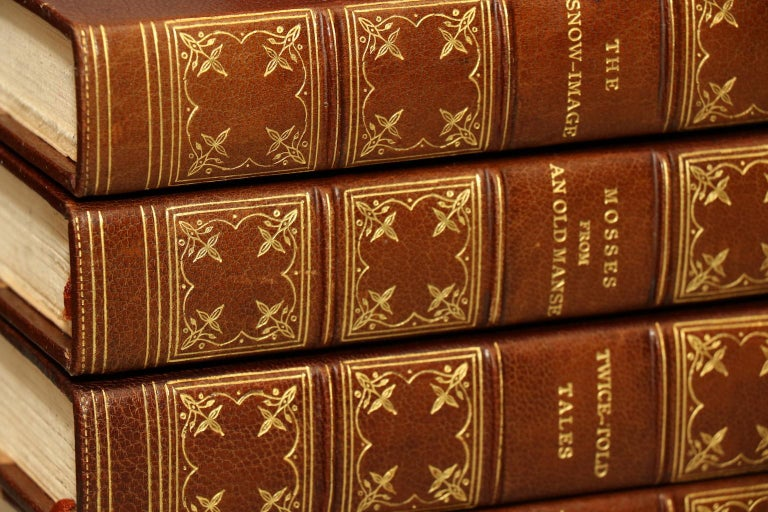 American Books, The Complete Works of Nathaniel Hawthorne  Limited Large Paper Edition! For Sale