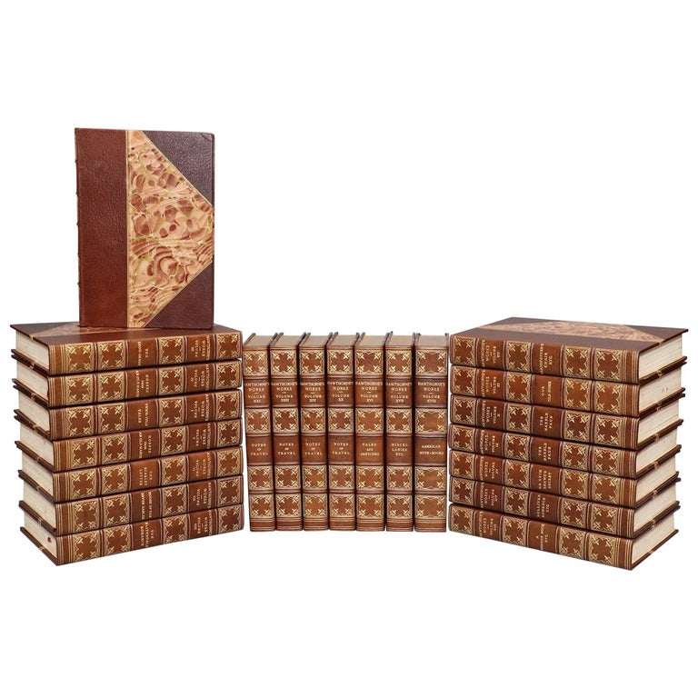 Books, The Complete Works of Nathaniel Hawthorne  Limited Large Paper Edition! For Sale