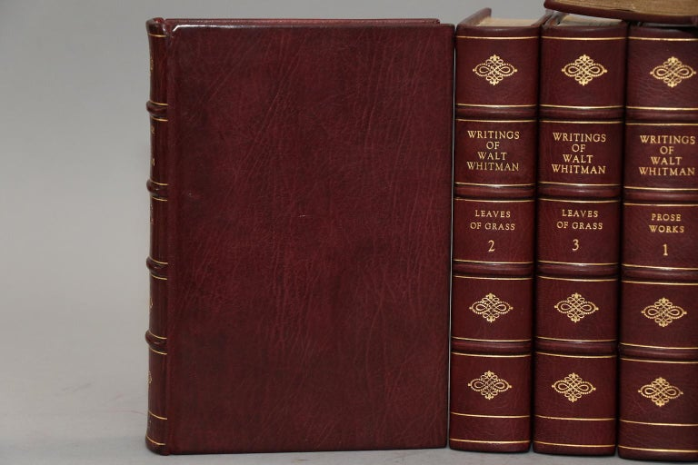 Leatherbound. 10 volumes. Limited to 300 sets, this is #27. Skillfully rebound in full wine Morocco with top edges gilt, raised bands, and gilt panels. Very good. Published in New York by G.P. Putnam's Sons in 1902.