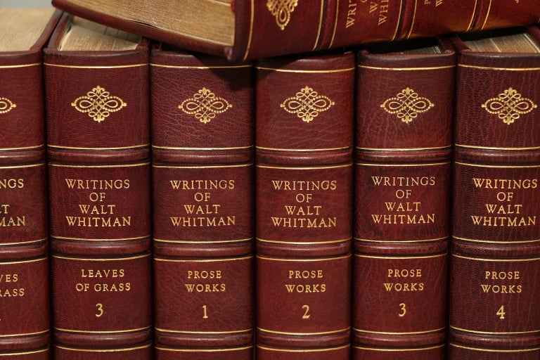 American Books, The Complete Works of Walt Whitman For Sale