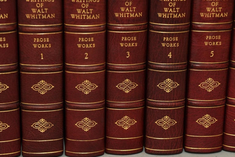 Dyed Books, The Complete Works of Walt Whitman For Sale