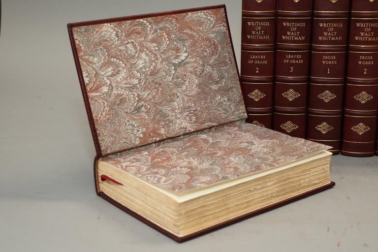 Early 20th Century Books, The Complete Works of Walt Whitman For Sale