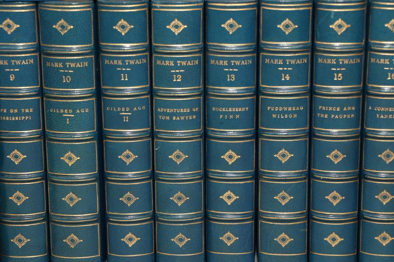 Dyed Books, The Complete Writings of Mark Twain
