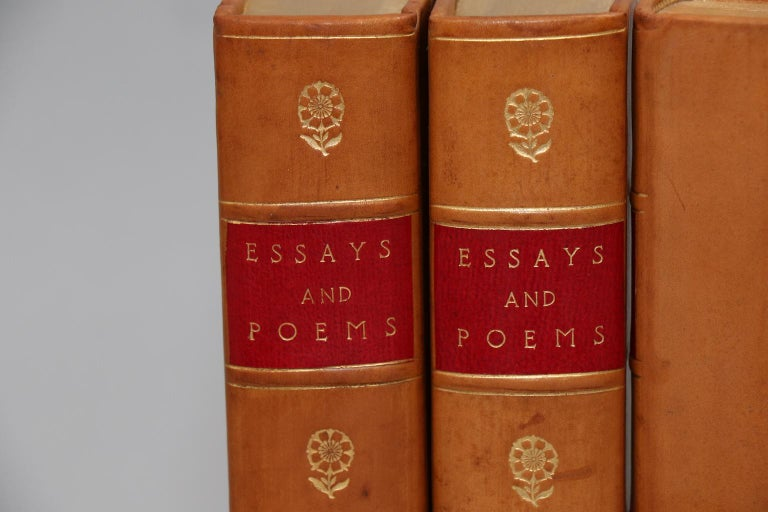 American Books, The Essays and Poems of Thomas A. Macaulay For Sale