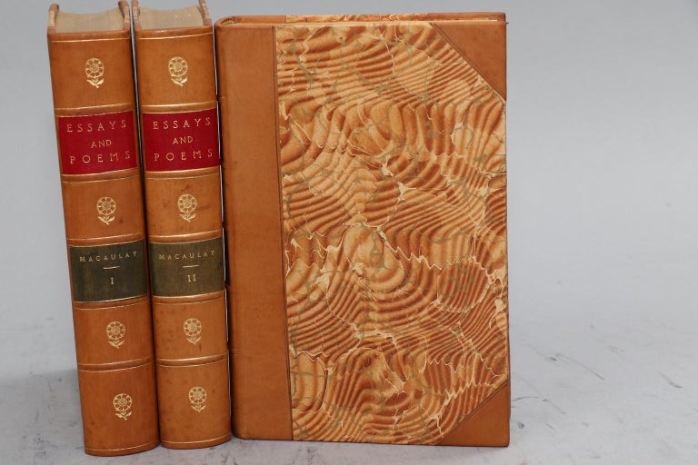 Dyed Books, The Essays and Poems of Thomas A. Macaulay For Sale