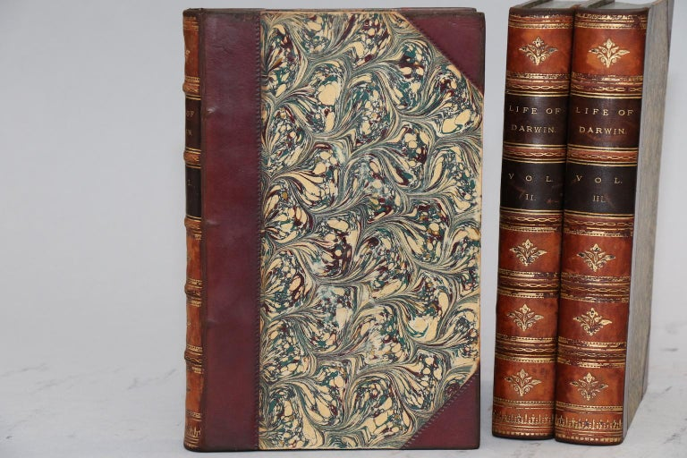 Books, The Life and Letters of Charles Darwin In Good Condition For Sale In New York, NY