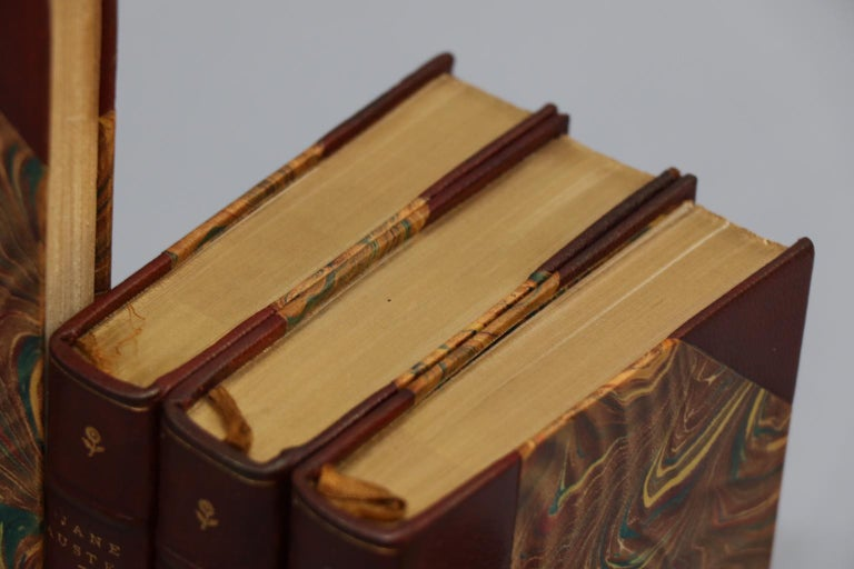 Books, The Novels of Jane Austen, Edited by Brimley Johnson Winchester Edition In Good Condition For Sale In New York, NY