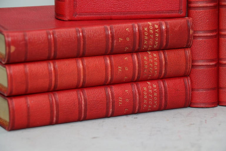 English Books, the Poetical Works of Lord Byron For Sale