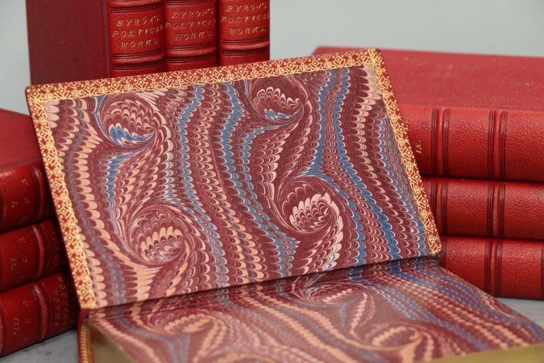 Books, the Poetical Works of Lord Byron In Good Condition For Sale In New York, NY