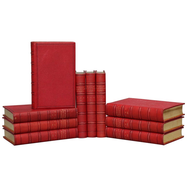 Books, the Poetical Works of Lord Byron For Sale