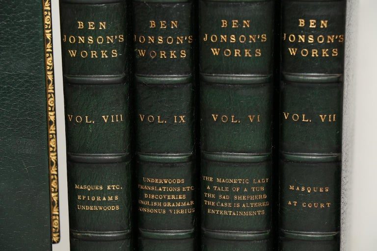 The works of Ben Johnson. With notes critical and explanatory, and a Biographical Memoir by W. Gifford.