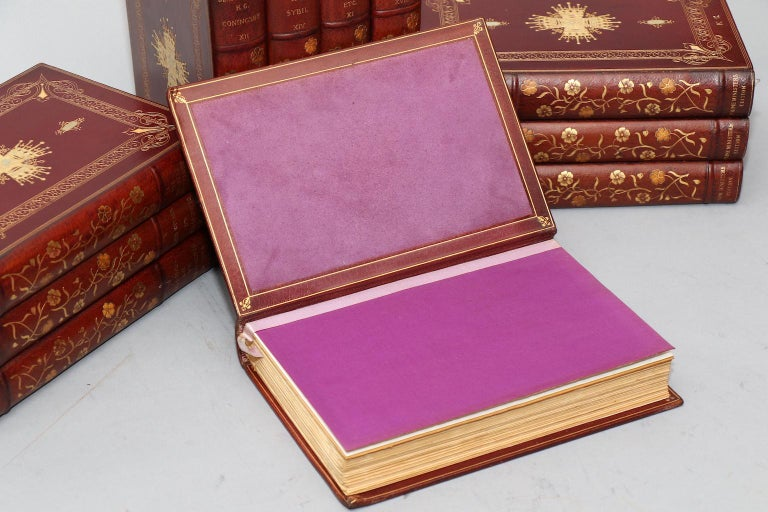 Early 20th Century Books, The Works of Benjamin Disarelli Prime Minister's Edition! For Sale