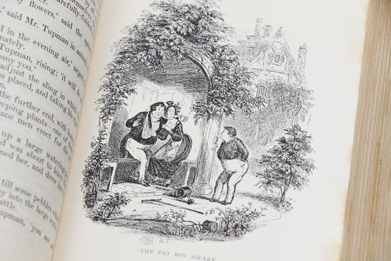 Books, The Works of Charles Dickens  National Library Edition For Sale 3