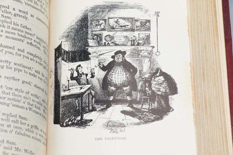 Books, The Works of Charles Dickens  National Library Edition For Sale 4