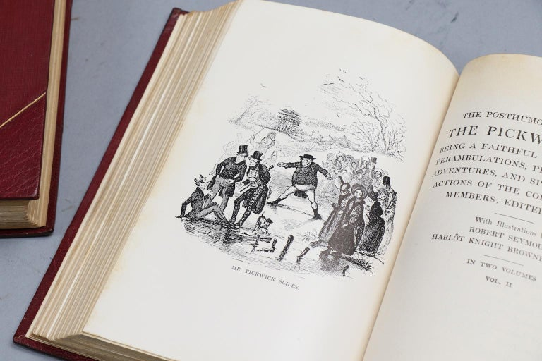Books, The Works of Charles Dickens  National Library Edition For Sale 5