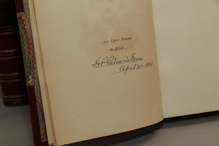 Late 19th Century Books, The Works of Edgar Allen Poe  The Amontillado Edition For Sale