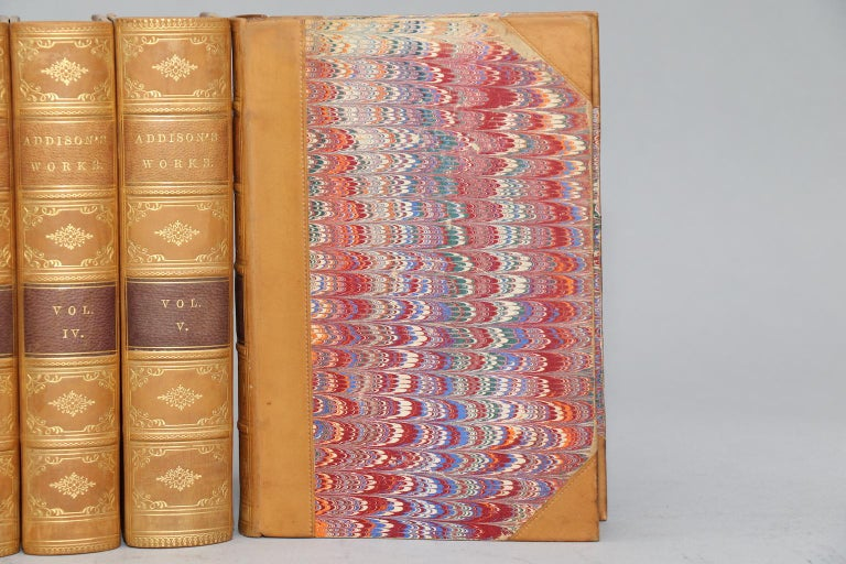 American Books, The Works of Joseph Addison For Sale