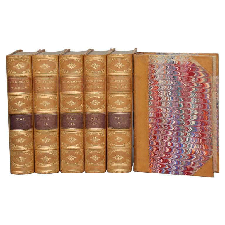 Books, The Works of Joseph Addison For Sale