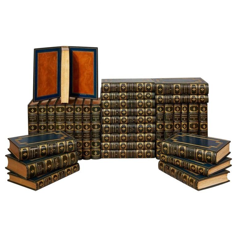 "Books, ""The Works of Rudyard Kipling"" For Sale"