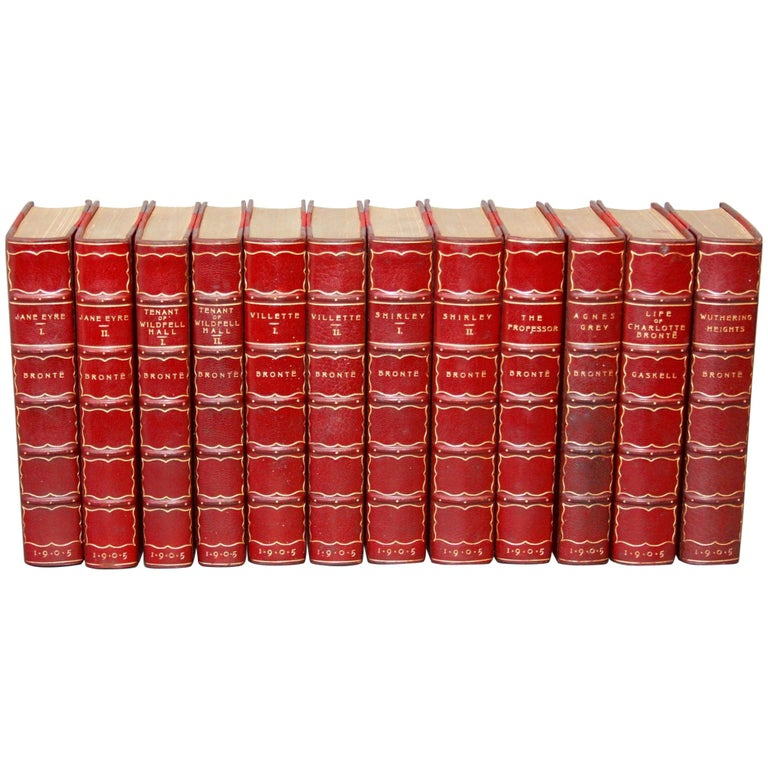 Books, the Works of the Bronte Sisters For Sale