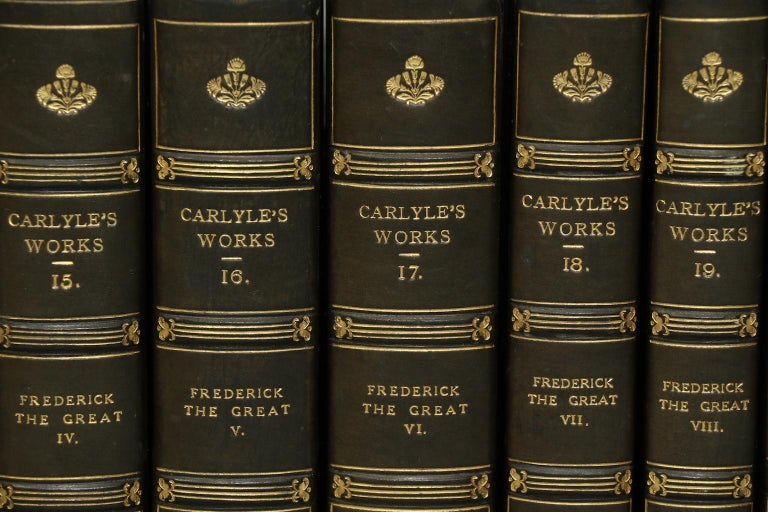 English Books, The Works of Thomas Carlyle For Sale