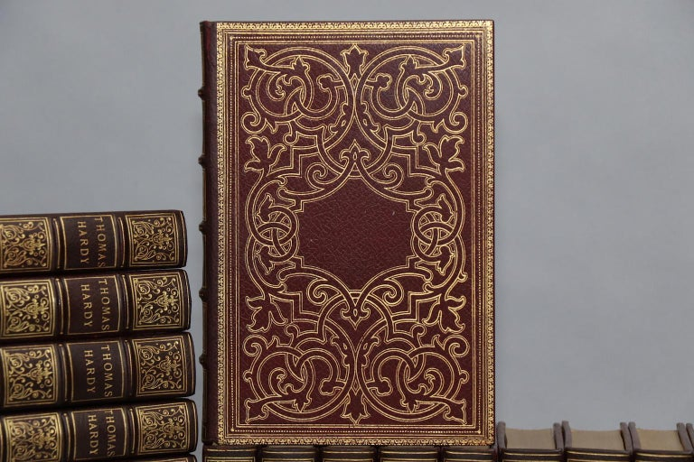Mellstock edition. Leatherbound. Thirty-seven volumes. Quarto.