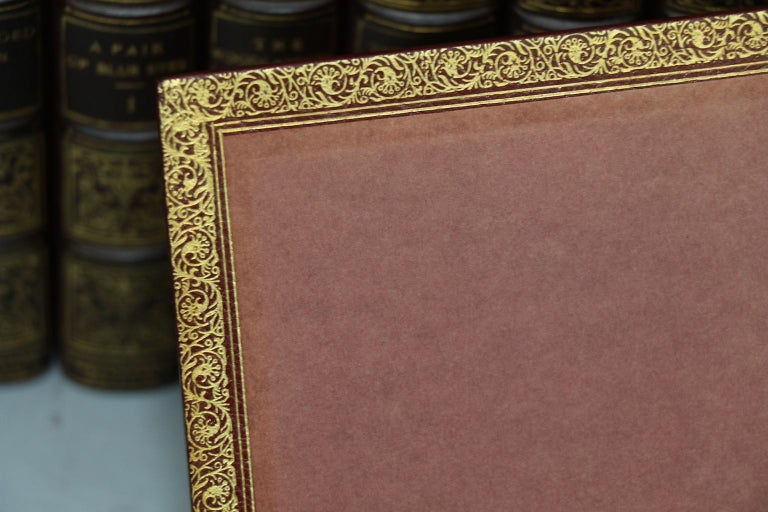 Leather Books, The Works of Thomas Hardy Signed Mellstock Edition For Sale