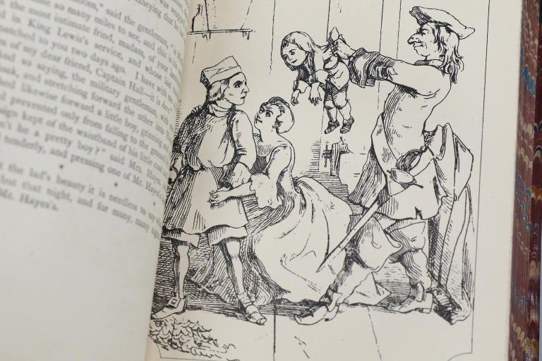 Books, The Works of William Makepeace Thackeray Illustrated For Sale 3
