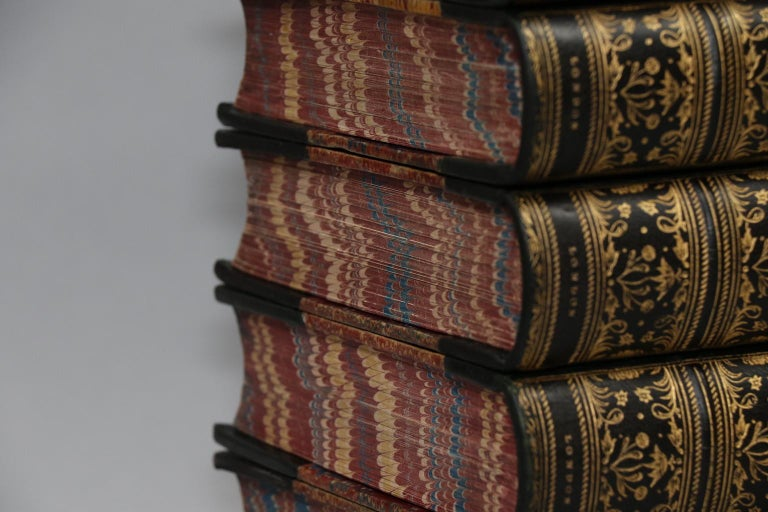 Mid-19th Century Books, The Works of William Makepeace Thackeray Illustrated For Sale