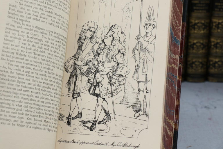 Books, The Works of William Makepeace Thackeray Illustrated For Sale 2