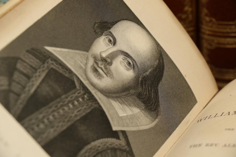 Books, The Works of William Shakespeare, Text revised by the Rev. Alexander Dyce For Sale 2