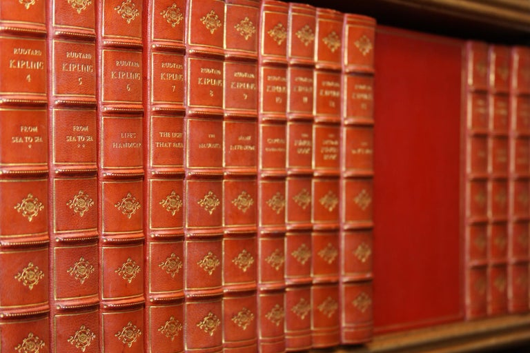 20th Century Books The Writings of Rudyard Kipling, The Bombay Edition Collected Antiques Set For Sale