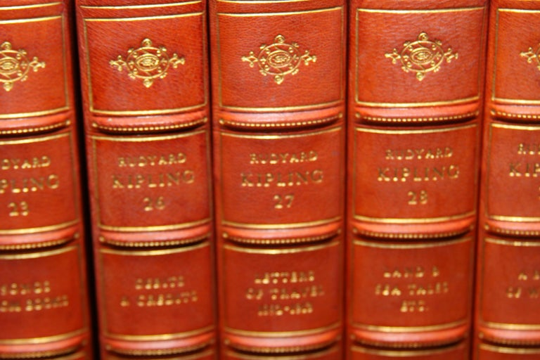 Books The Writings of Rudyard Kipling, The Bombay Edition Collected Antiques Set For Sale 1