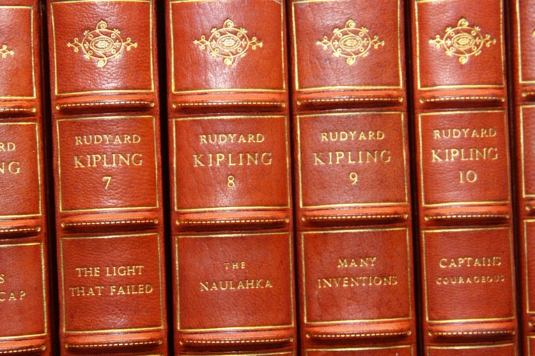 Books The Writings of Rudyard Kipling, The Bombay Edition Collected Antiques Set For Sale 2