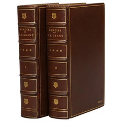 "Books, Ulysses S. Grant's ""Personal Memoirs""  First Edition"
