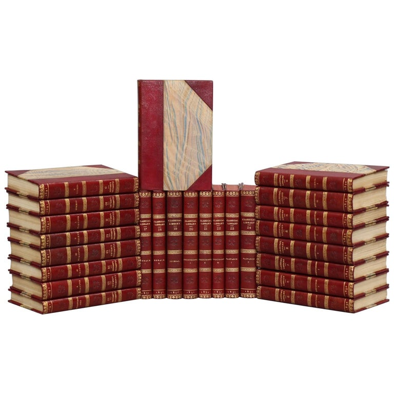 """Books, Various Author's """"Classical Library Greek Classics"""""""