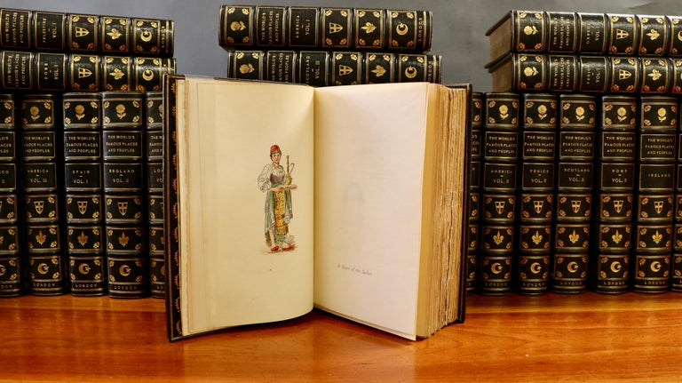 Books, Various Authors: The World's Famous Places and Peoples In Excellent Condition For Sale In New York, NY