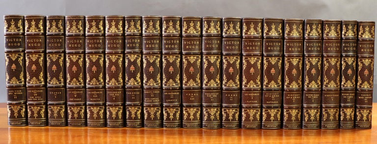 Books, Victor Hugo Novels In Excellent Condition For Sale In New York, NY