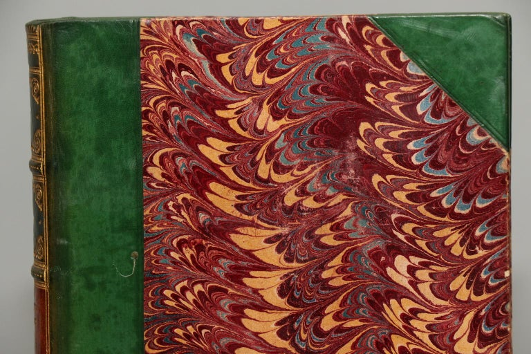 Dyed Books, Walter Scott's