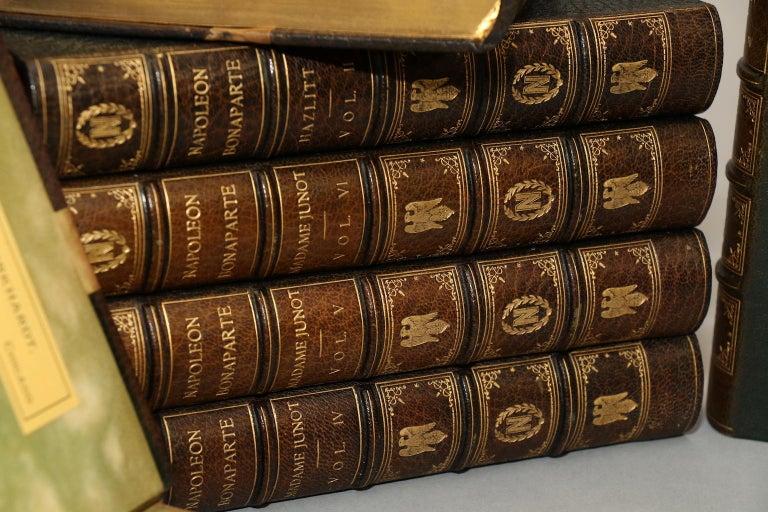 English Books, William Hazlitt, Madame Junot, & Louis Bourrienne's